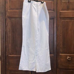 White, Large-Tall length Life Uniform scrubs